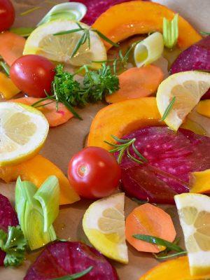 verduras y fruta